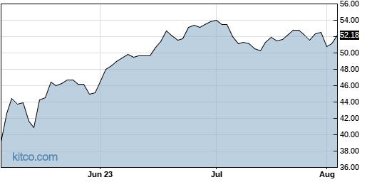 ANIP 3-Month Chart