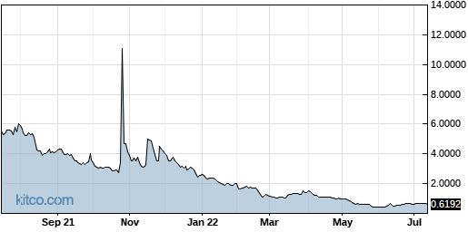 BIMI 1-Year Chart