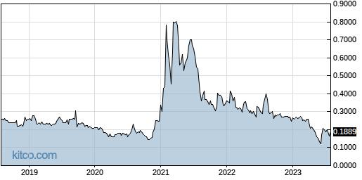 ENZN 5-Year Chart