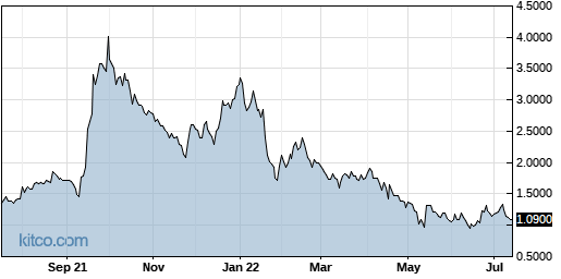 LPTX 1-Year Chart