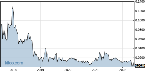 RGIN 5-Year Chart