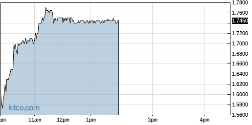 SNCR 1-Day Chart