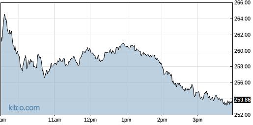 TSLA 1-Day Chart