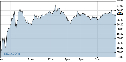 WGO 1-Day Chart